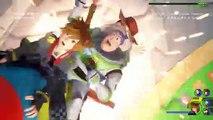 Kingdom Hearts III - Pub Combat