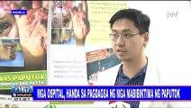 Mga ospital, handa sa pagdagsa ng mga mabibiktima ng paputok