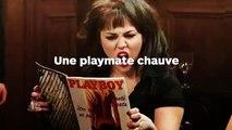 Une playmate chauve chez Playboy