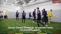 Coupe du monde 2018 : la causerie d'Olivier Giroud avant la finale France-Croatie