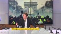 """La violence """"n'est pas dans l'esprit des gilets jaunes"""", selon Geoffroy Didier (LR)"""
