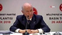 """MHP Genel Başkanı Bahçeli: (Cumhur İttifakı) """"Cumhur İttifakı'nın 24 Haziran Seçimlerinden Sonra..."""