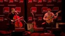 Concert A L'improviste : David Chevallier (guitare, effets) et Valentin Ceccaldi (violoncelle)