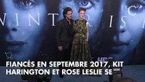 Kit Harington fête ses 32 ans : qui est sa femme, Rose Leslie ?