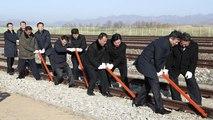 Les deux Corées veulent reconnecter leurs liaisons ferroviaires