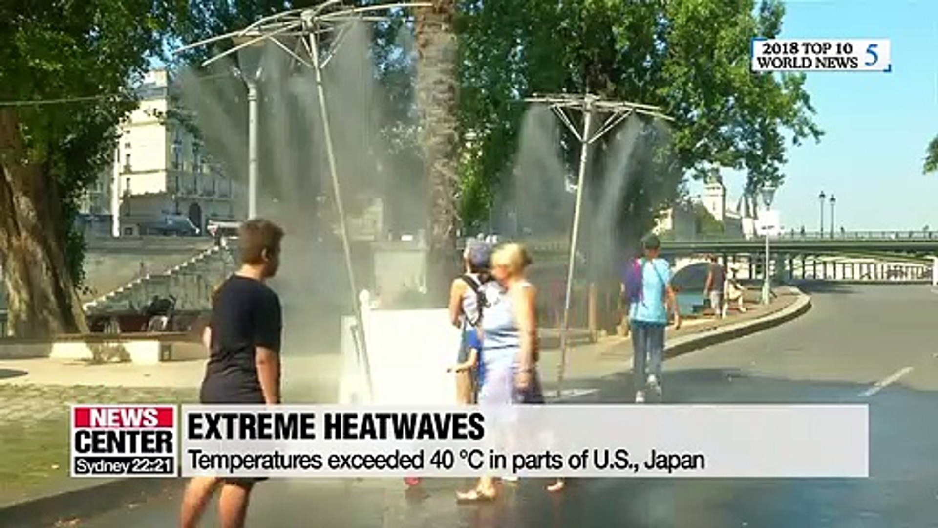 Extreme weather and climate change around the world