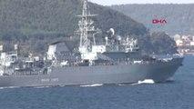 Çanakkale Rus Savaş Gemisi Çanakkale Boğazı'ndan Geçti
