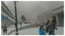 Tibet : il filme le tremblement de terre avec son téléphone
