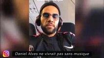 Dani Alves ne vivrait pas sans musique, Aubameyang met bien le bazar à Arsenal