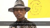 """Pharrell Williams : """"Je veux que cette exposition crée le débat"""""""