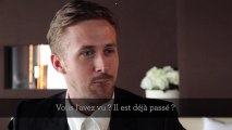"""Ryan Gosling : """"D'où je viens, les gens ne portent pas de smoking pour aller au cinéma"""""""
