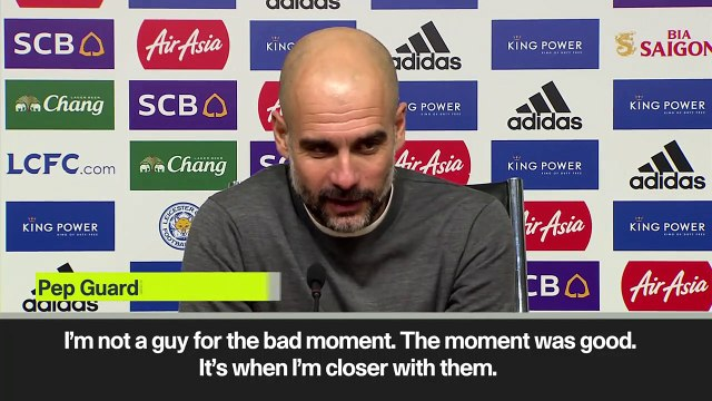 Eng Sub: Guardiola explains extra Manchester City training after 2-1 EPL defeat at Leicester