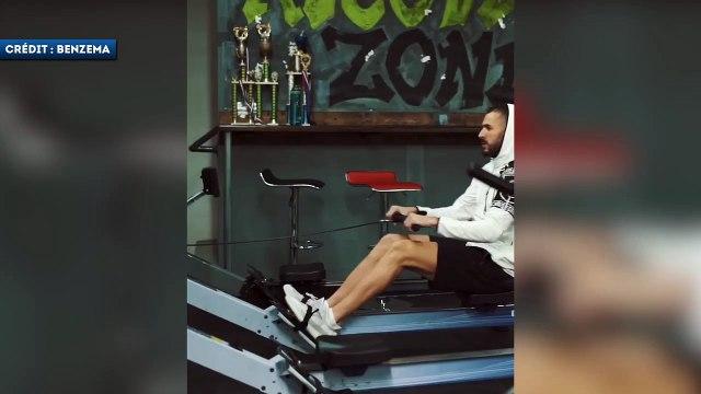 Karim Benzema s'entraîne avec Booba à la boxe