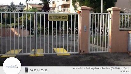 A vendre - Parking/box - Antibes (06600) - 13m²