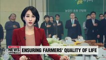 President promises to improve rural and farming areas to ensure quality of farmers' livelihoods