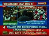 Your faith is faith, my faith isn't: Owaisi during triple talaq debate