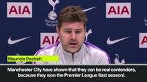 Eng Sub: Pochettino discusses Premier League title race