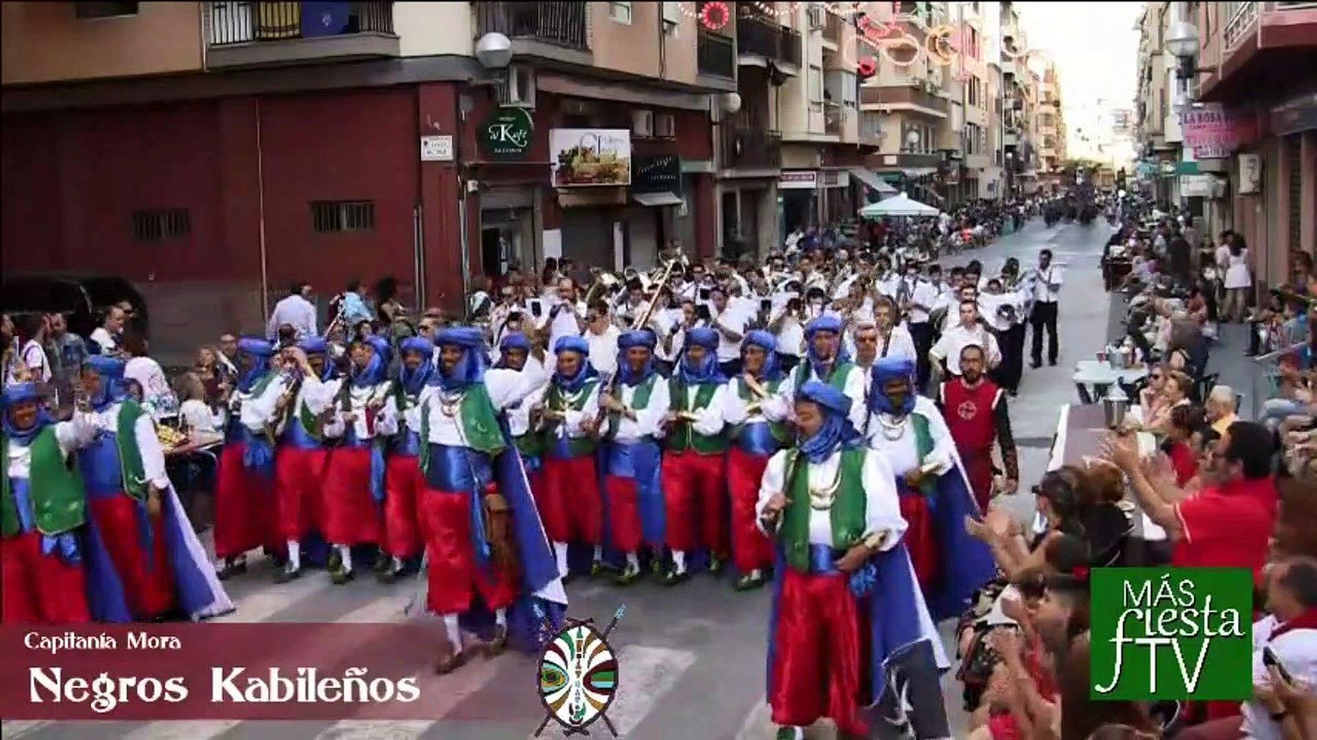 Moros y Cristianos Barrio San Blas 2016 Entrada Mora (MásFiestaTv)