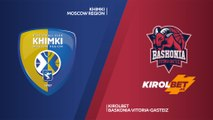 Khimki Moscow region - KIROLBET Baskonia Vitoria-Gasteiz Highlights   Turkish Airlines EuroLeague RS Round 15