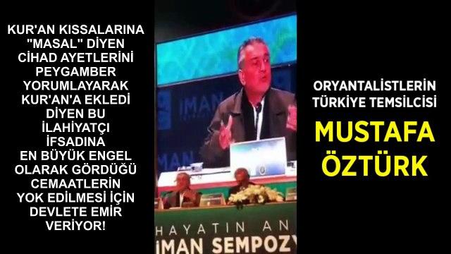 Ağzı Bozuk ilahiyatçı Mustafa Öztürk cemaatleri tehdit ediyor