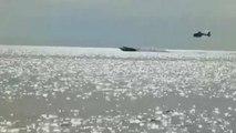 Hubschrauber jagt Schnellboot: 3 mutmaßliche Drogenhändler festgenommen