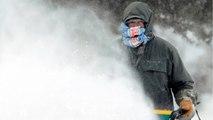 Winter Storm Blasts Across Midwest