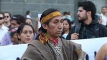 Manifestaciones en Chile por muerte de mapuche terminan en graves enfrentamientos