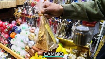 Rituales de año nuevo en Mercado Sonora