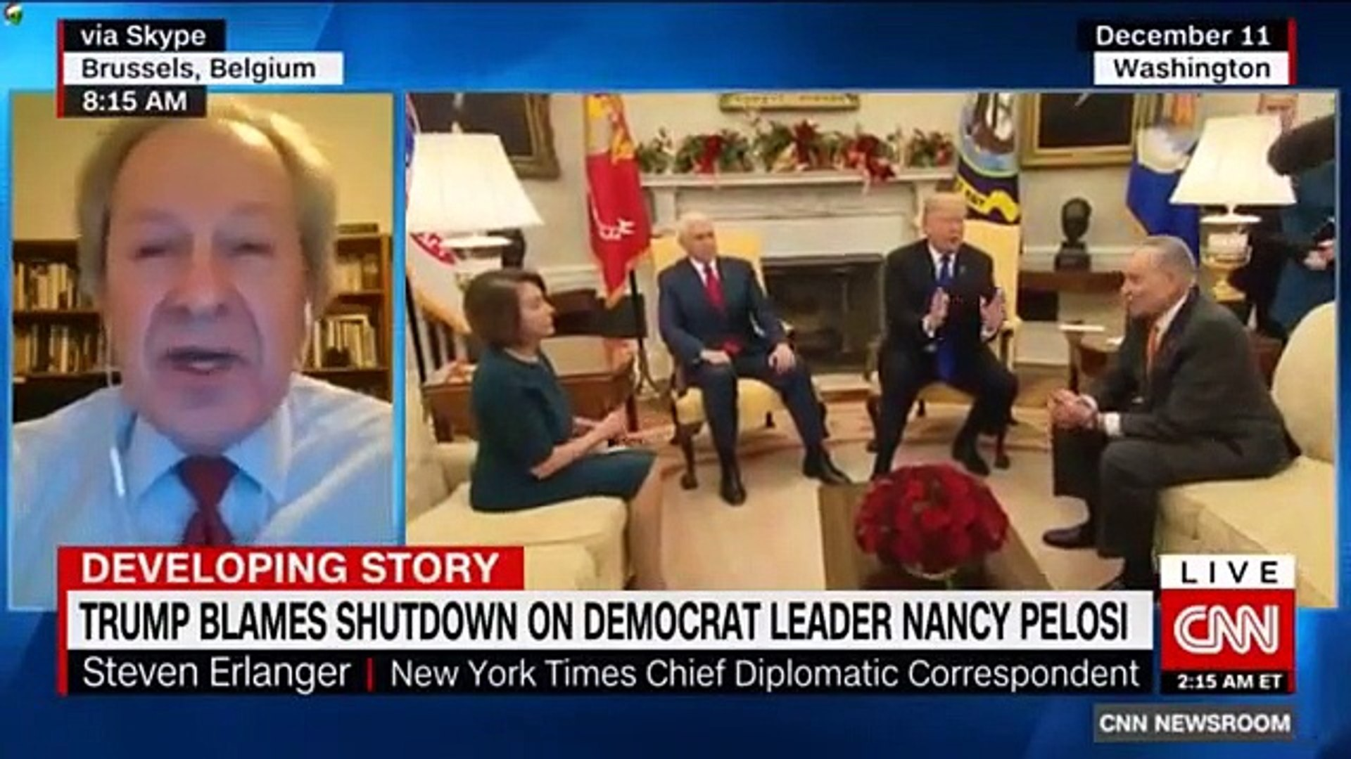 BREAKING NEWS TRUMP DOUBLES DOWN ON BORDER WALL AS SHUTDOWN CONTINUES #TRUMP #NEWS #DEVELOPING #STOR
