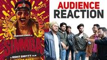 Simmba | Audience Reaction | Ranveer Singh, Sara Ali Khan, Sonu Sood | Rohit Shetty |