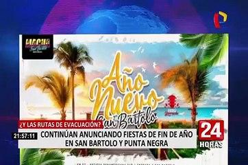 Punta Negra y San Bartolo: discotecas se preparan para