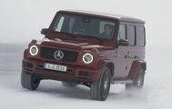 VÍDEO: Así es el Mercedes G 350D, la versión más lógica sobre nieve