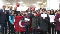 Öğrencilerden Sınır Hattındaki Mehmetçiğe Yeni Yıl Mektubu - Edirne