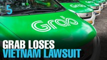 EVENING 5: Grab ordered to compensate Vietnam taxi firm