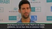 Abu Dhabi - Djokovic : ''Surfer sur ma bonne dynamique''