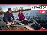 Blind woman says rowing transformed her life | SWNS TV