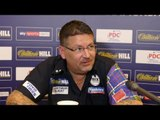Gary Anderson fumes; 'My body's in bits' after reaching last 8 at Alexandra Palace