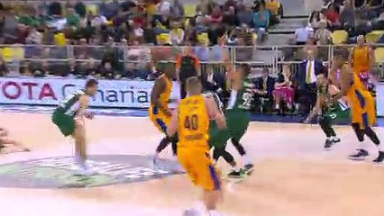 EuroLeague 2018-19 Highlights Regular Season Round 15 video: G. Canaria 73-66 Zalgiris