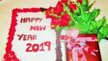 DIY New year gifts cards 2019 | Handmade cards New year 2019 Gifts Cards | New Year Cards 2019 | DIY Room Decorations