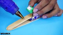 34 How to make Aeroplane with DC motor - DIY Projects