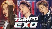 [HOT] EXO - Tempo  , 엑소 - Tempo  Show Music core 20181229