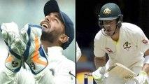 India vs Australia 3rd Test Day 4 : Rishabh Pant return Sledge For Paine,After His Sledge