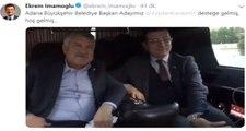 CHP Adana Büyükşehir Belediye Başkan Adayı, Ekrem İmamoğlu'nu Ziyaret Etti