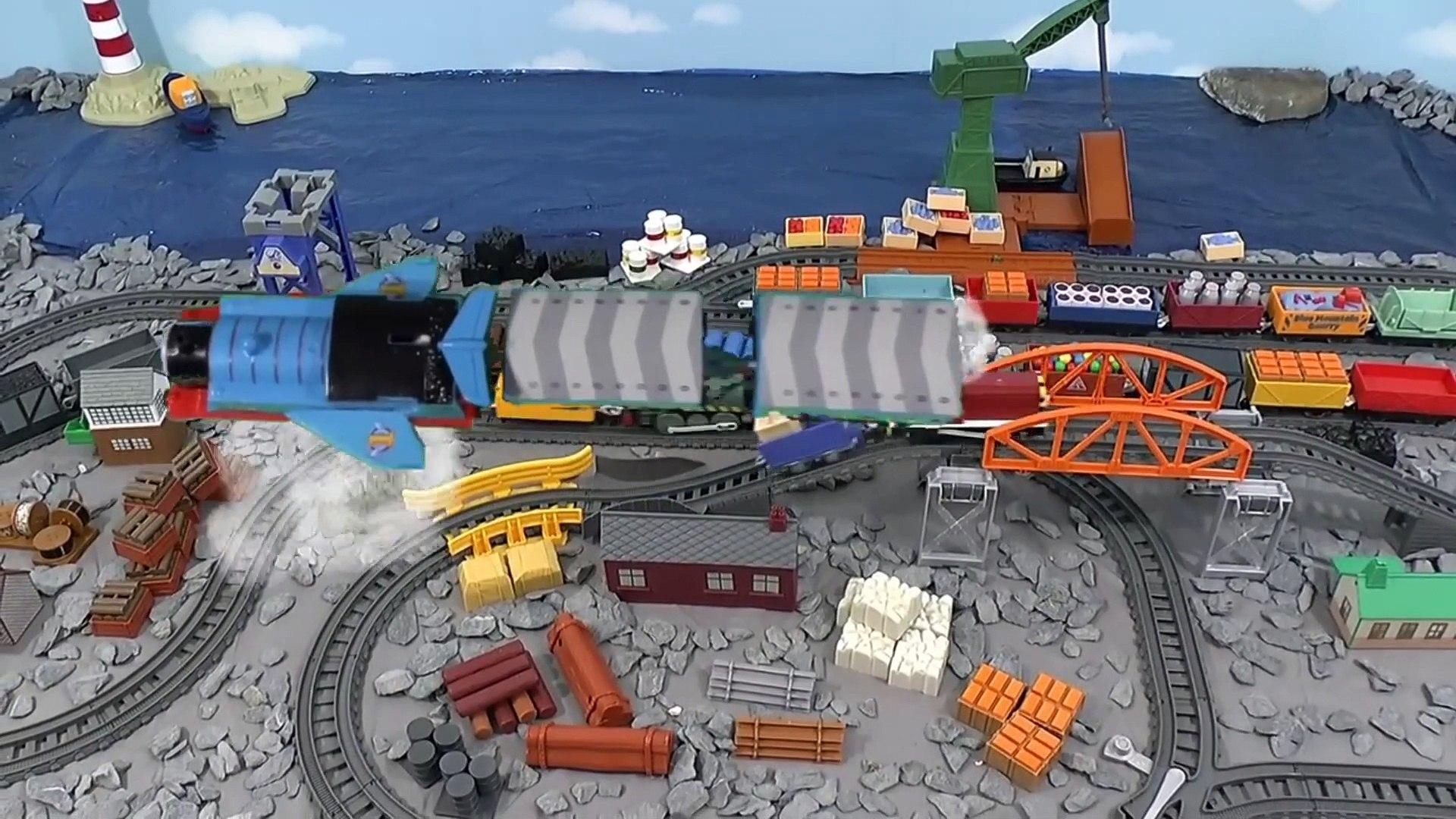 Thomas & Friends  Winged Thomas Accident Episode Story - Family Fun Toy Train Story using Thomas