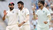 Jasprit Bumrah, Mohammed Shami,  Ishant Sharma most lethal trio of 2018 |वनइंडिया हिंदी