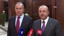 """- Dışişleri Bakanı Çavuşoğlu: """"suriye Konusunda Rusya Ve İran'la Yakın İşbirliği İçinde Çalışmaya Devam Edeceğiz"""""""