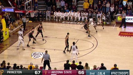 No. 17 Arizona State Misses 3 Shots at End of Game in Upset Loss to Princeton