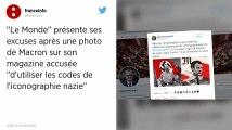 Le Monde présente ses excuses après un montage photo de Macron rappelant la propagande nazie