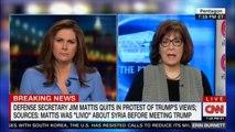"Defense Secretary Jim Mattis quits in protest of Donald Trump's views; Sources: Mattis was ""Livid"" about Syria before meeting Donald Trump. #Breaking #DonaldTrump #Mattis"