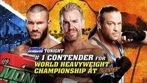 Randy Orton vs Christian vs Rob Van Dam #1 Contender's Match | SmackDown Latino ᴴᴰ